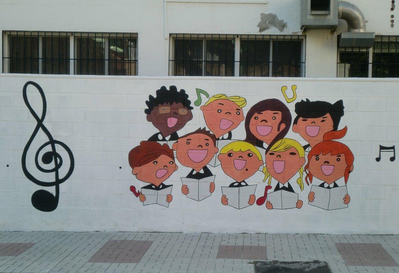 Decoración Exterior de Nuestro Colegio