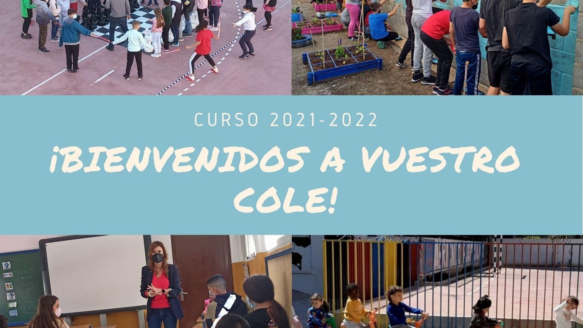 Bienvenidos al Nuevo Curso Escolar 2.021/2.022